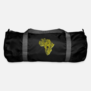 Symbol Africa in zebra camouflage - Duffle Bag