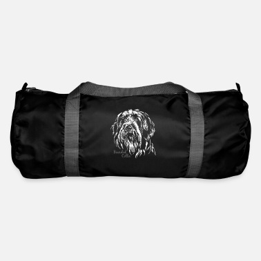 Bearded Collie BEARDED COLLIE Portrait of Wilsign - Duffel Bag