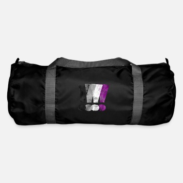 Asexual Pride Exclamation Points - Duffle Bag