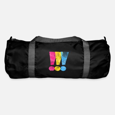 Pansexual Pride Exclamation Points - Duffle Bag