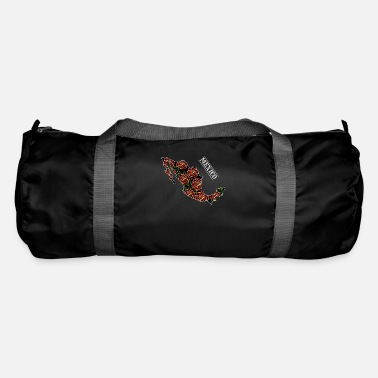Map Mexico Map Art - Duffle Bag