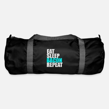 Speck Eat Sleep Bacon Repeat Bacon Breakfast Gift - Borsa sportiva