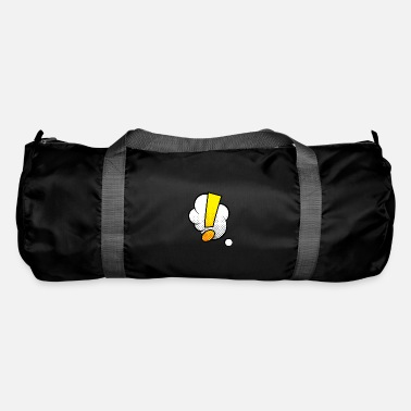 Comic Comic Comic Comic Strip Point d'exclamation - Sac de sport