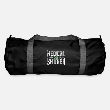 Weed medicine smoking weed cannabis - Duffle Bag