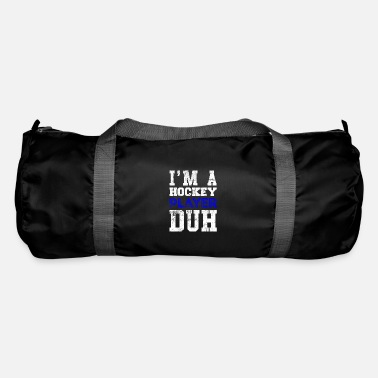 Cool Quote Hockey player quote Cool quote - Duffle Bag