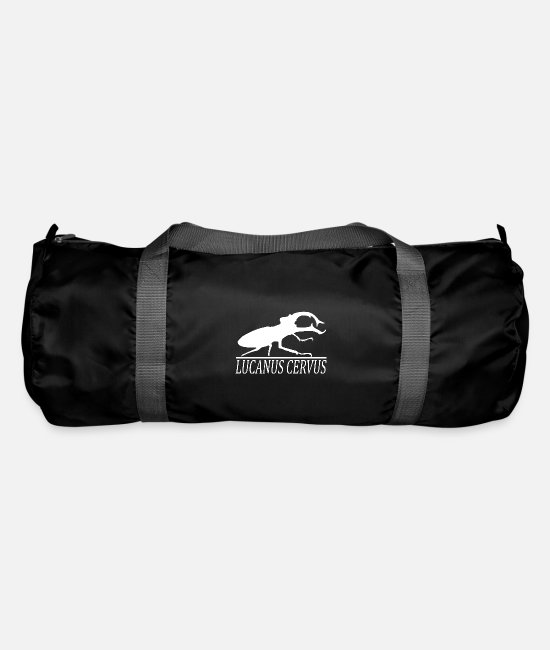 Nature Conservation Bags & Backpacks - stag beetle - Duffle Bag black