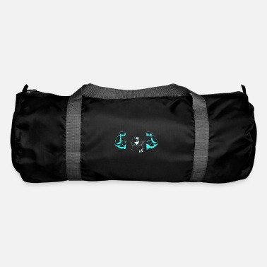 Tricep Muscles biceps triceps arms Cool Strong ego - Duffle Bag