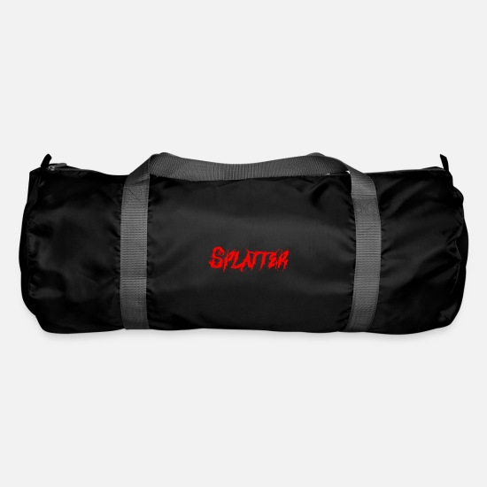 Gift Idea Bags & Backpacks - Splatter, horror, movies, gift - Duffle Bag black