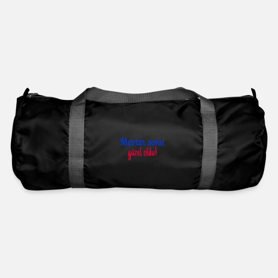 Turkey Bags & Backpacks - Martın sonu güzel oldu! - Duffle Bag black