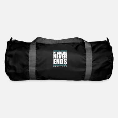 New York Weekend never ends - premium design - Duffle Bag