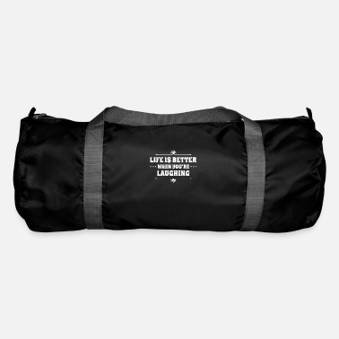 laughing is always possible - Duffle Bag