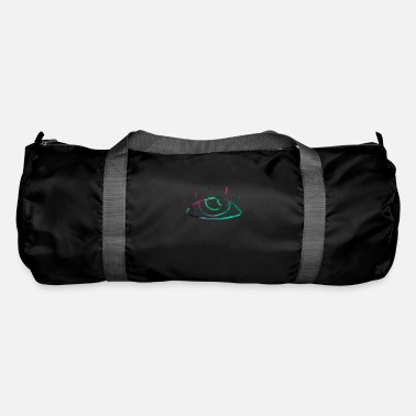 View Abstract eye, gift, gift idea - Duffle Bag