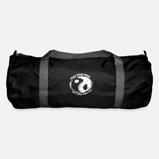 Gift Idea Bags & Backpacks - Buddhism - Duffle Bag black