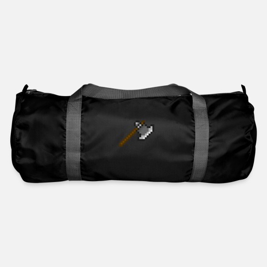 Sayings Bags & Backpacks - ax - Duffle Bag black