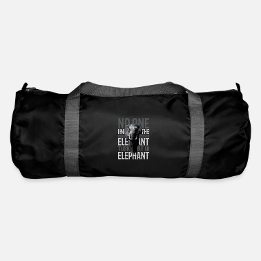 Elephant Tusk - elephant ivory animal gift - Duffel Bag