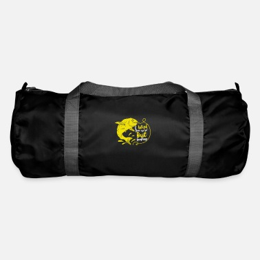 Wish You Bait hunting fishing wobbler spinner gift blinker - Duffle Bag