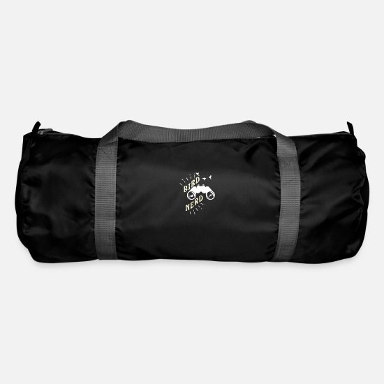 Birthday Bags & Backpacks - Ornithology bird ornithology watching gift - Duffle Bag black