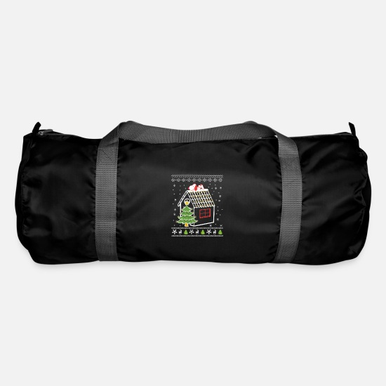 Show Bags & Backpacks - Ugly Christmas Sweater - Home - Duffle Bag black