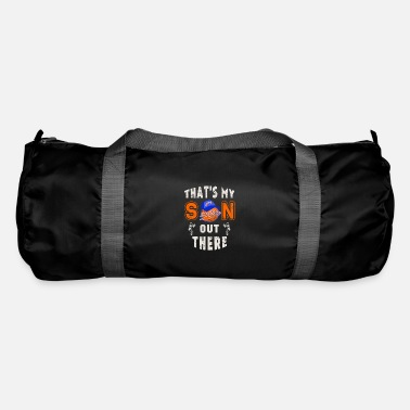 Basketball Fathers Day That's My Son out There - Duffle Bag