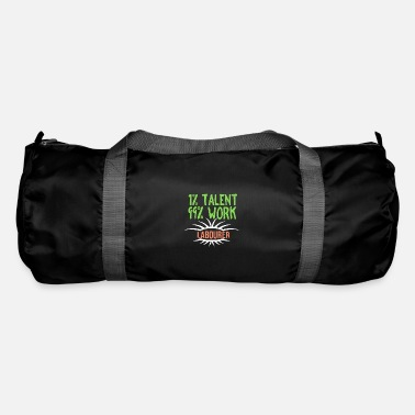 Proud 1% talent 99% work worker - Duffle Bag