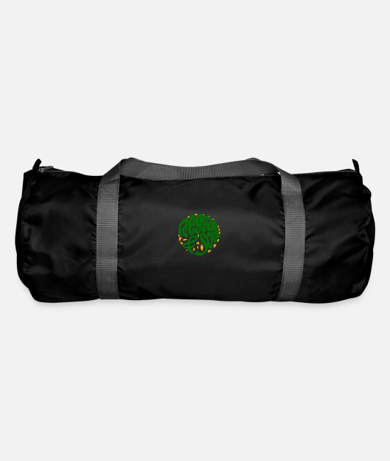 Ska Punk Bags & Backpacks - Reggae & Soul print | Jamaican Flag or Jamaica - Duffle Bag black