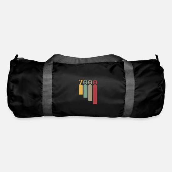Birthday Bags & Backpacks - Old postcode Stuttgart 7000 - Duffle Bag black