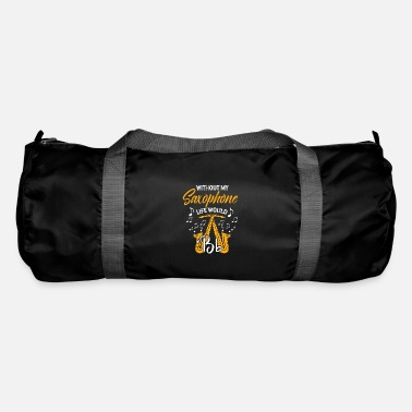 Jazz Music Musician Band Saxophone Saxophone - Duffle Bag