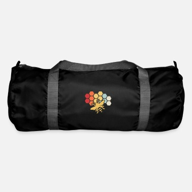 Bee Retro Vintage Beekeeper Birthday Gift - Duffle Bag