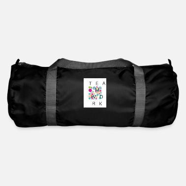 Cheers TEAMWORK with colorful gears - Duffle Bag