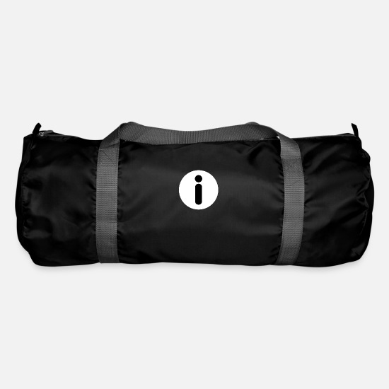 Symbol  Bags & Backpacks - Information icon symbol - Duffle Bag black
