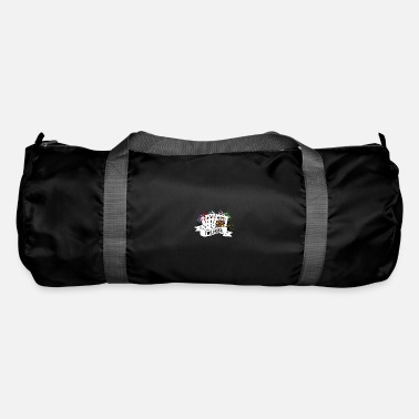 Holdem Poker Two pairs of poker game - Duffle Bag