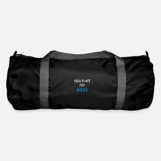 Politics Bags & Backpacks - No place for Nazis - Duffle Bag black
