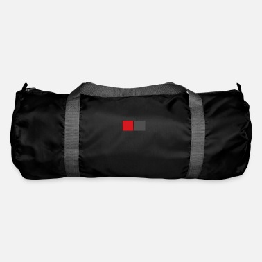 Prohibitory Sign red grey - Duffle Bag