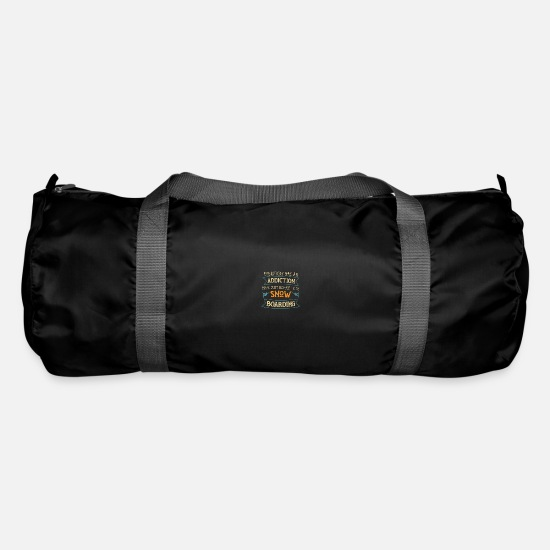 Gift Idea Bags & Backpacks - Snowboarder gift winter vacation piste - Duffle Bag black