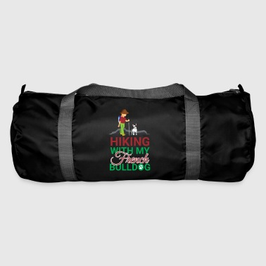 HIKING FRENCH BULLDOG - Duffel Bag