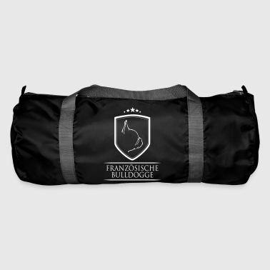 FRENCH BULLDOGS COAT OF ARMS - Duffel Bag