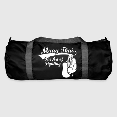 Muay Thai boxing MMA boxer, boxing  gloves - Duffel Bag