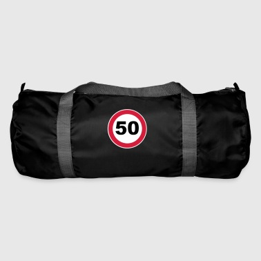 50th birthday sign - Duffel Bag
