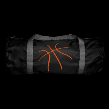 Basketball logo grooves - Duffel Bag
