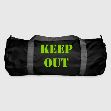 Keep out - Duffel Bag
