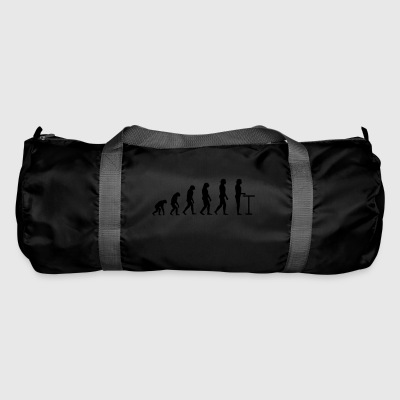 Evolution at the table - Duffel Bag