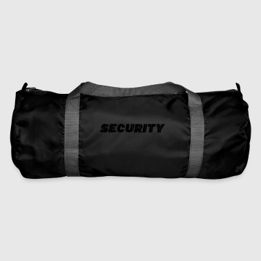 belettering SECURITY - Sporttas