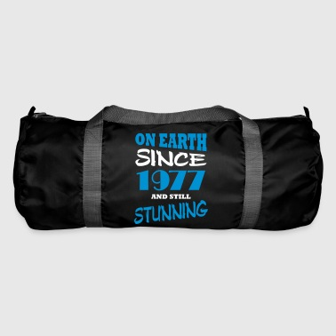 On earth since 1977 and still stunning - Duffel Bag
