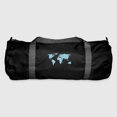 map of the world - Duffel Bag