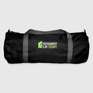 Photography is my therapy - therapy - Duffel Bag
