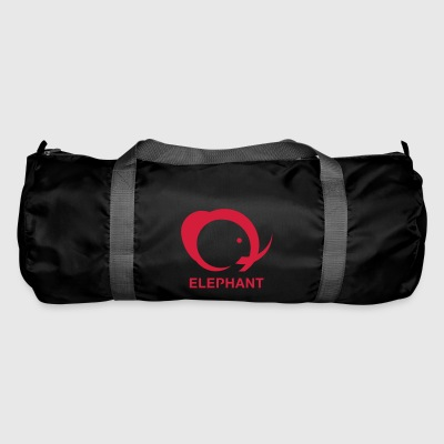 elephant logo - Duffel Bag