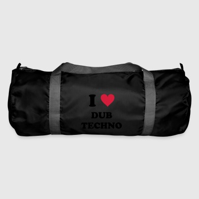 I LOVE DUB TECHNO - Duffel Bag