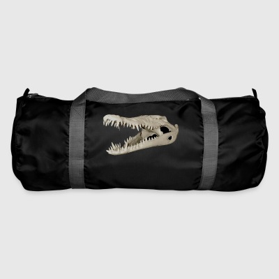 Crocodile Skull - Duffel Bag