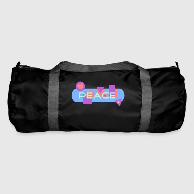 Peace and Love - Sac de sport