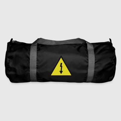 electricity danger signal - Duffel Bag
